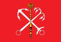 Флаг г. Санкт-Петербург