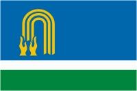 Флаг г. Октябрьский