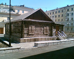 Первый дом Норильска. Фото: Wikipedia.org