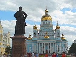 Соборная площадь г. Саранска.Фото: Wikipedia.org
