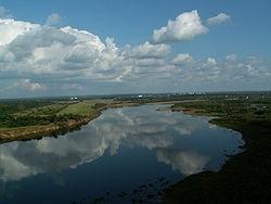 Река Вятка, вид с Малой горы, Киров. Фото: Wikipedia.org