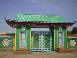 Ворота Этнографического музея народов Забайкалья. Фото: Wikipedia.org
