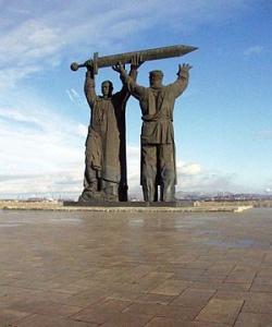 Монумент «Тыл-фронту». Фото: Wikipedia.org
