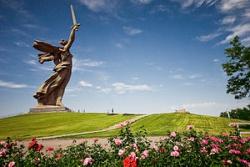 Волгоград. Монумент «Родина-мать зовёт!» на Мамаевом кургане. Фото: Wikipedia