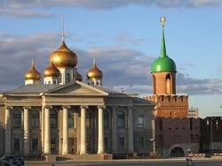 Музей Самоваров и Ворота Тульского кремля. Фото: Wikipedia.org