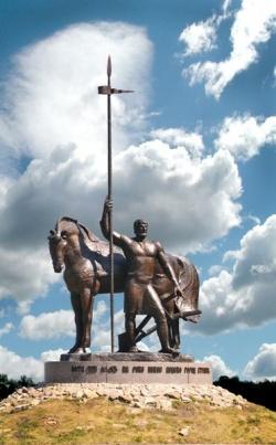 Памятник Первопоселенцу в Пензе. Фото: Wikipedia.org