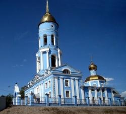 Храм во имя Владимирской иконы Божией Матери. Фото: Wikipedia.org