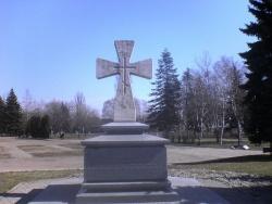 При закладке Ставропольской крепости был найден каменный крест. Фото: Wikipedia