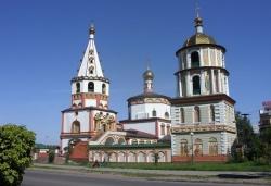 Иркутский православный Собор Богоявления. Фото: Wikipedia.org
