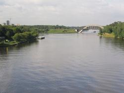 Канал имени Москвы рядом с Химками. Фото: Wikipedia.org