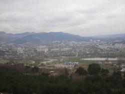 Панорама Кисловодска с горы Кольцо. Фото: Wikipedia.org