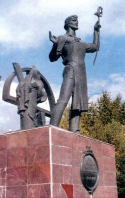 Памятник И. Н. Бушуеву. Фото: Wikipedia.org