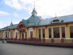 Железнодорожная станция «Орск». Фото: Wikipedia.org